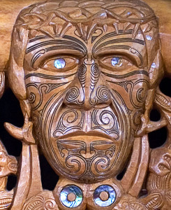 Maori Christ Crowned with Thorns