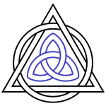 Triquetra-Interlaced-Triangle-Circle
