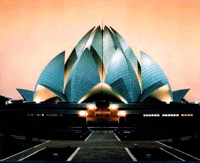 Храм Бахаи в Индии