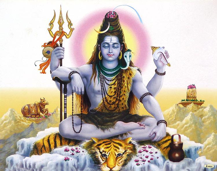 Шива-создатель йоги и любимец индуистов