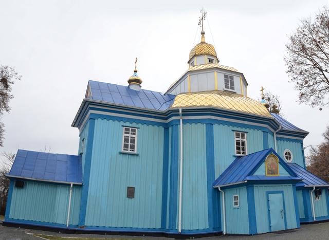 Успенська церква, місто Рівне