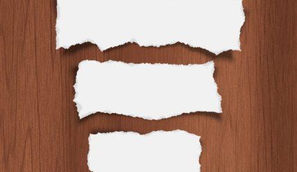 Кусочки паперу (притча)