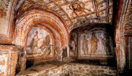 Римські катакомби як живе свідчення існування християнства