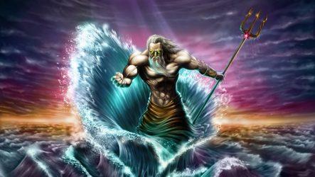 Бог Посейдон
