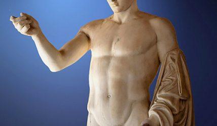 Гермес давньогрецький бог торгівлі та гімнастики