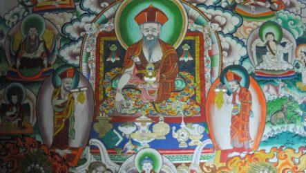 Шабдрунг Нгаванг Намгьял  – основатель и царь Бутана