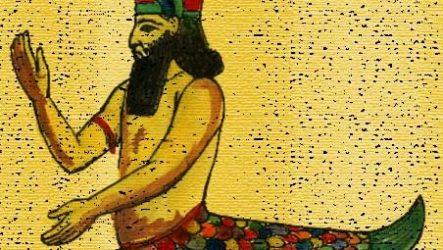 Бог Енкі. Міф про Інанну й Енкі