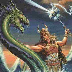 Тор – бог грому та блискавки в скандинавській міфології