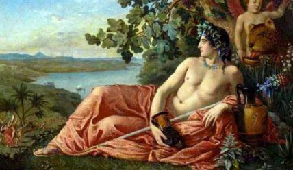 Дионис – бог растительности, виноградарства, виноделия.