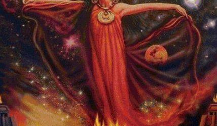 Гестия – богиня семейного очага и жертвенного огня
