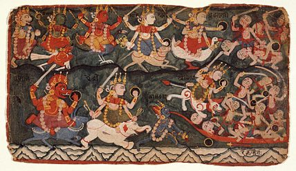 Махабхарата – давньоіндійський епос.