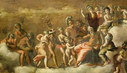 Олимпийские боги Древний Греции