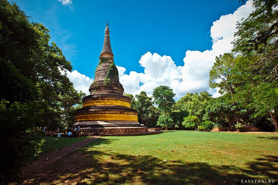 Храм Ват Умонг (Wat Umong) место для медитаций