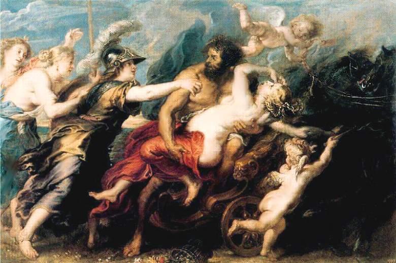 Похищение Персефоны Аидом