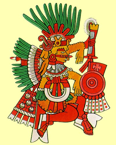 Камаштлі - бог полювання і війни в майя