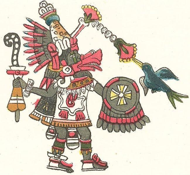Кукулькан - бог вітру і води, вогню і повітря