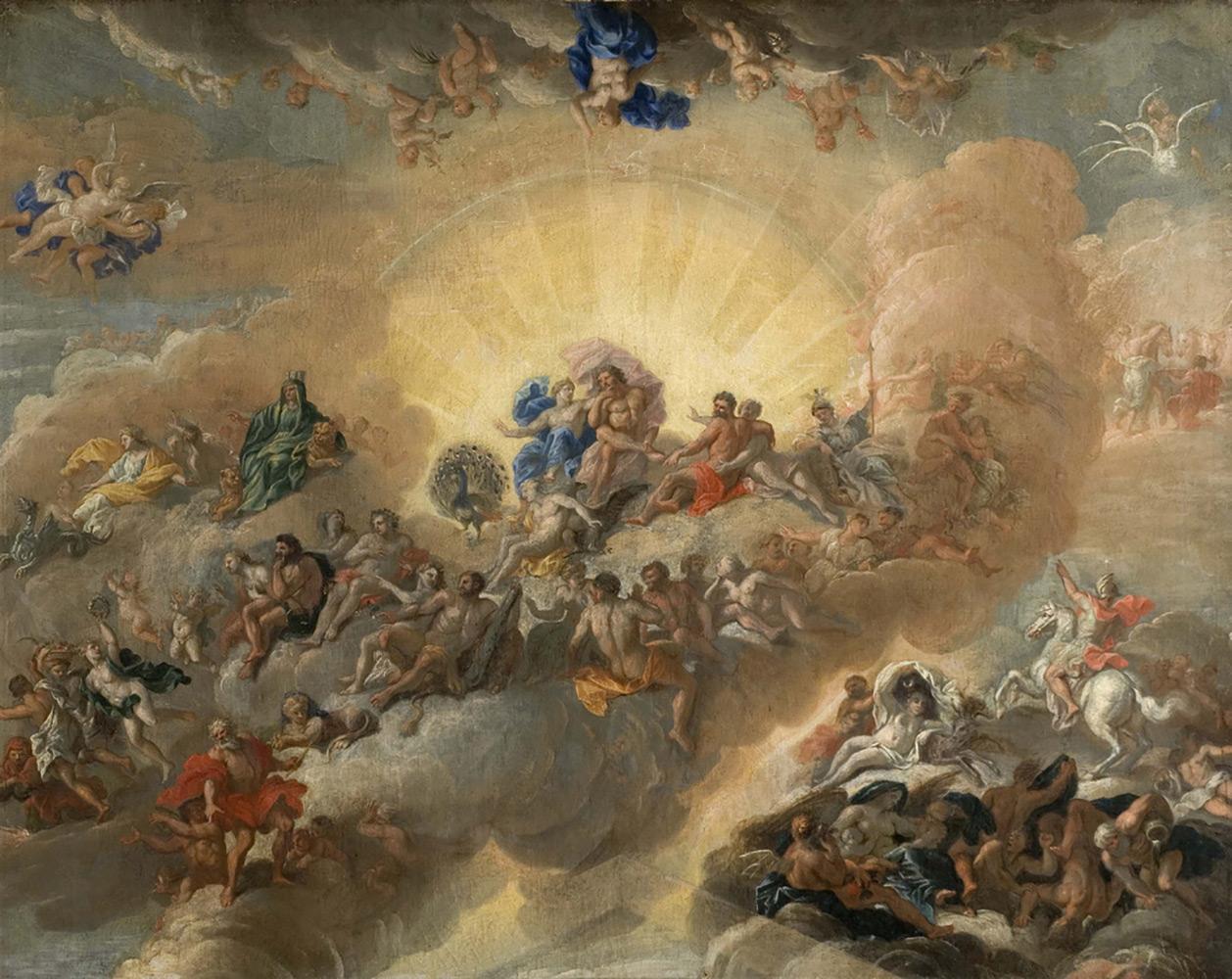 Легенда о рождении Зевса