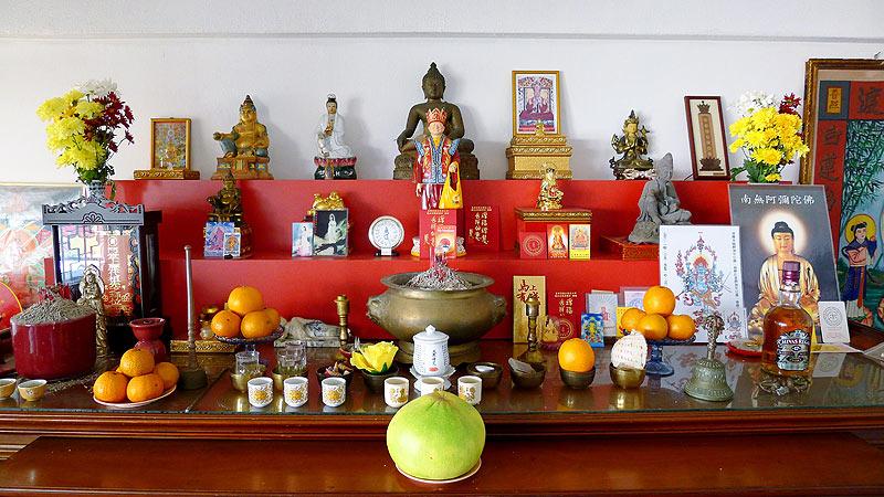 Ритуальний вівтар у Даосизмі