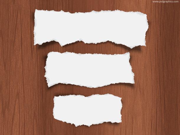 torn-paper
