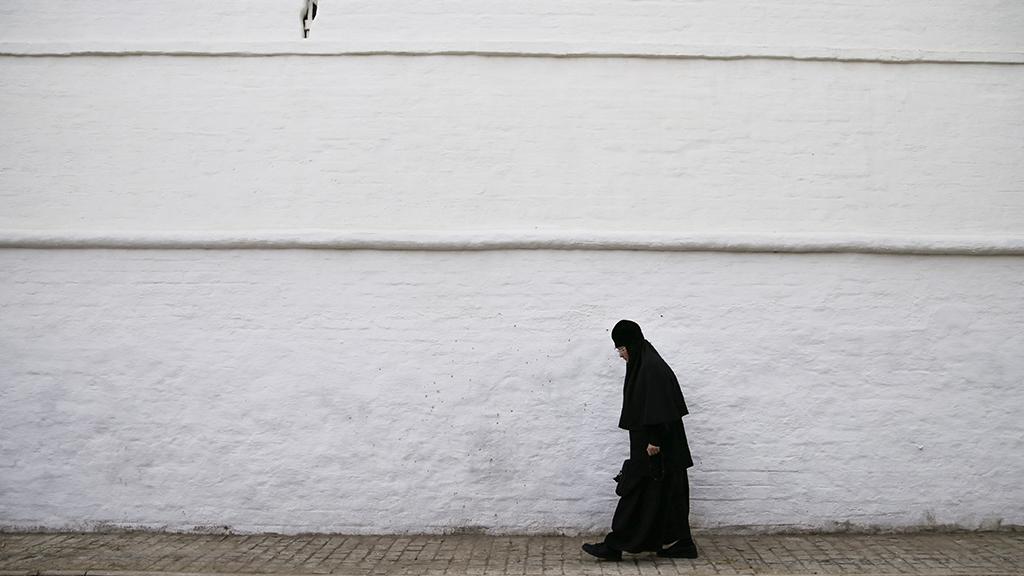 Старенька монахиня (притча)